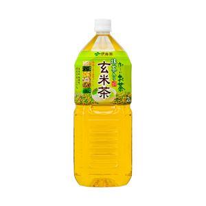 伊藤園 お~いお茶 玄米茶 箱売 1箱(2L×6本)