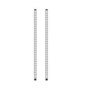 (業務用セット) エレクター ポスト(ブラック) H30cm 【×3セット】
