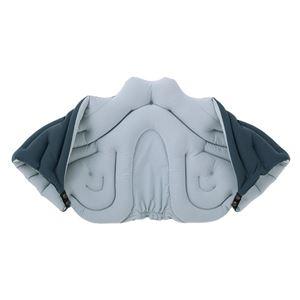 musshu(ムッシュ) 肩枕 サクラ咲く肩まくら チャコール Lサイズ