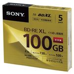 SONY 録画用 BD-RE 3層式 2倍速 100GB 5枚パック 5BNE3VCPS2の詳細ページへ