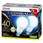 東芝 LED電球 一般電球形 全方向タイプ 485lm 昼白色2P LDA4N-G/40W-2Pの詳細ページへ