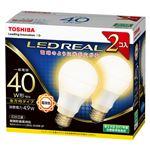 東芝 LED電球 一般電球形 全方向タイプ 485lm 電球色2P LDA5L-G/40W-2Pの詳細ページへ