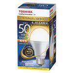東芝 LED電球 一般電球形 640lm 調光器対応 電球色 LDA8L-G-K/D/50Wの詳細ページへ