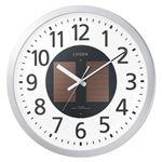 リズム時計工業 ソーラー電波掛時計 エコライフM815 4MY815-019