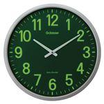 キングジム 電波掛時計 ザラ-ジ 集光・蓄光文字盤 GDKS-001