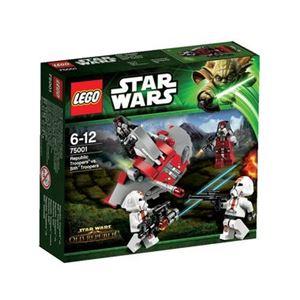 レゴジャパン 75001 リパブリック・トルーパー vs シス・トルーパー 【LEGO】