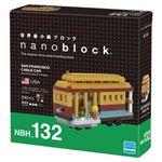 カワダ NBH_132 nanoblock サンフランシスコ・ケーブルカー 【nanoブロック】