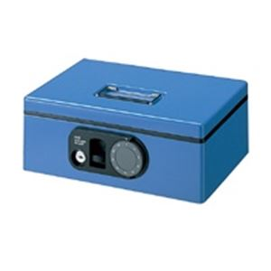 プラス F型手提金庫 CB-030F ブルー