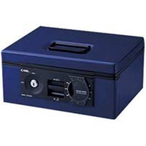 カール事務器 キャッシュボックス2WAY 青B5 CB-D8660-B