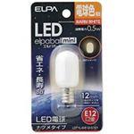 (業務用80セット) 朝日電器 ELPA 電球形LEDランプ ナツメ型LDT1L-G-E12-G101の詳細ページへ