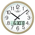 カシオ計算機 カシオ電波掛時計 IC-4100J-9JFの詳細ページへ