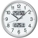 セイコークロック セイコー 電波掛時計 KX383Sの詳細ページへ