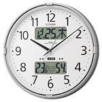 リズム時計 シチズン電波掛時計 4FY618-019の詳細ページへ