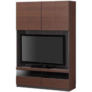 壁面テレビボード TVボード 幅120cm【PORTALE】ポルターレ 【日本製】