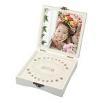 木製乳歯ケース フォトフレーム一体型 プレゼント・ギフトにの詳細ページへ