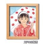 色紙額縁セット/木製フレーム・小 【311mm×280mm×15mm】 おおた慶文 「ステキな梅雨」 壁掛け用/ひも付きの詳細ページへ