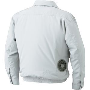 空調服 屋外作業用(チタン加工)  【カラー:ダークブルーサイズ:XL】 リチウムバッテリーセット
