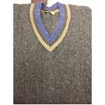 Made In Scotland William Lockie クリケット(チルデン)セーター 正規輸入品  グレー40 の詳細ページへ