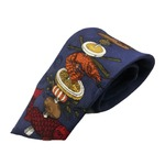 イタリア ミラノ FORNASETTI フォルナセッティ 手縫い仕立て ネイビー バーベキューの詳細ページへ