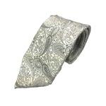 希少生地使用 グランネクタイ Clarkプレミアム 手縫い仕立て 西陣ネクタイ ラメ入りホワイトの詳細ページへ