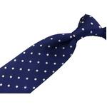 EARLY AMERICAN 手縫いネクタイ ブルー 水玉の詳細ページへ