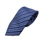 Gian Bellini milano イタリアファクトリーネクタイ ブルー×ストライプの詳細ページへ