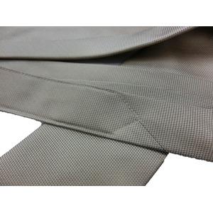 秋冬シルクネクタイ Clarkプレミアム 手縫い仕立て 西陣ネクタイ きなり×小柄