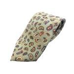 希少限定生地 シルクネクタイ Clarkプレミアム 手縫い仕立て 西陣ネクタイ ペイズリー の詳細ページへ