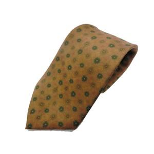 希少限定生地 シルクネクタイ Clarkプレミアム 手縫い仕立て 西陣ネクタイ クラシック小紋