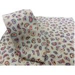 希少限定生地 シルクネクタイ&チーフセット Clarkプレミアム 手縫い仕立て 西陣ネクタイ ペイズリーの詳細ページへ