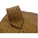 希少限定生地 シルクネクタイ&チーフセット Clarkプレミアム 手縫い仕立て 西陣ネクタイ クラシック小紋の詳細ページへ