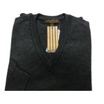 イタリア製 SIMONE DELLANNA EXTRA FINE MARINO WOOLVネックセーター チャコールグレー Mの詳細ページへ