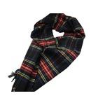 新作 英国製 Made in Scotland カシミヤ100%マフラー Black Stewartの詳細ページへ