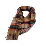 新作 英国製 Made in Scotland カシミヤ100%マフラー Large tartan2の詳細ページへ