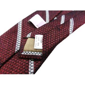 日本製シルク100%ネクタイ レンガ