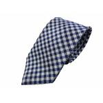 ワンランク上の日本製シルク100%ネクタイ ブルーチェック の詳細ページへ