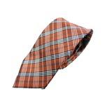 新春モデル 日本製シルク100%ネクタイ ダークオレンジ の詳細ページへ