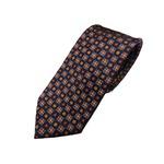 新春モデル 日本製シルク100%ネクタイ ネイビー小紋 の詳細ページへ
