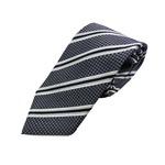 日本製シルク100%ネクタイ ストライプの詳細ページへ