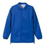 撥水防風加工裏地起毛付コーチジャケット ブルー XLの詳細ページへ