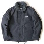 USタイプ 「N-1」 DECK ジャケット ブラック(裏ボアグレー) 34(S)サイズ【レプリカ】の詳細ページへ