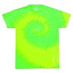 レインボーマルチカラー タイダイTシャツ L イエローライムの詳細ページへ