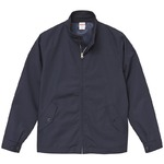 テカリを抑えた綿混・撥水加工、防風加工、裏地付スウィンブトップジャケット ネイビー XLの詳細ページへ