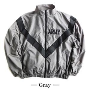 US ARMY IPFU 防風撥水加工大型リフレクタージャケットレプリカ グレー L
