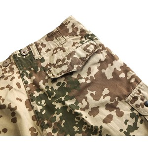 ドイツ連邦国軍放トロペンターンカモショートパンツ中古 M