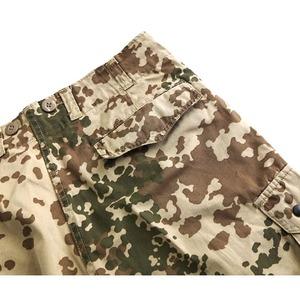 ドイツ連邦国軍放トロペンターンカモショートパンツ中古 XL