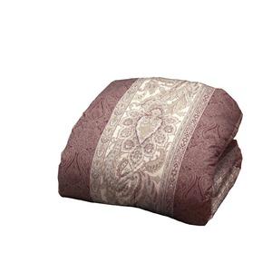 掛け布団 【シングルサイズ】/フランス産 ホワイトダックダウン&フェザー 日本製 ピンク