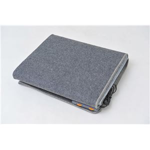 電気ホットカーペット/電気カーペット 本体のみ 【一畳用 180cm×90cm】 長方形 折りたたみ可