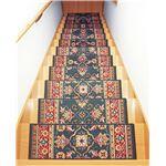 ベルギー製階段マット13枚組グリーン系の詳細ページへ