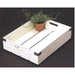 カルチベーター アンティークホワイト ウッド 苗箱LL 56cmの詳細ページへ